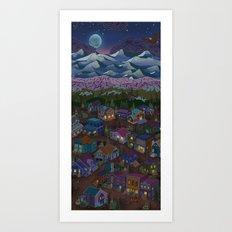 Adventure Town Art Print