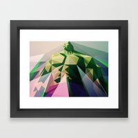 Mad Man Framed Art Print
