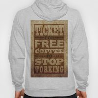 Free Coffee Ticket Hoody