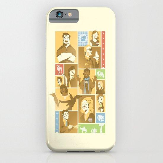 Parks & Rec iPhone & iPod Case