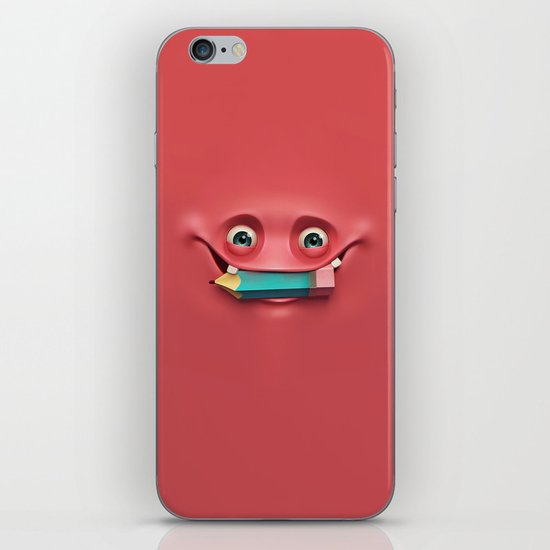 Happy face iPhone & iPod Skin