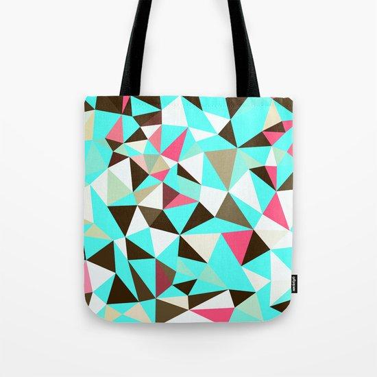 Cherry Mint Choco Tris Tote Bag