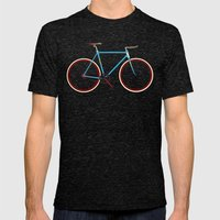 Bike Mens Fitted Tee Tri-Black SMALL
