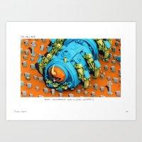 POP HELL #8 Art Print