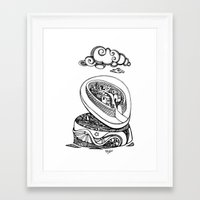 A different kind of jewellery box Framed Art Print