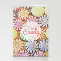 I Want Candy Stationery Cards