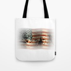 The Rise of a Nation Tote Bag