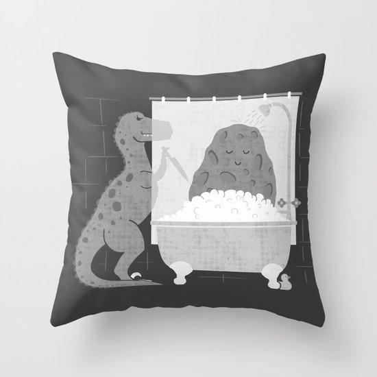 Meteor Shower Throw Pillow