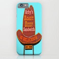 Classic Arby's sign iPhone 6s Slim Case