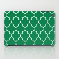 Constantine Lattice in Emerald iPad Case
