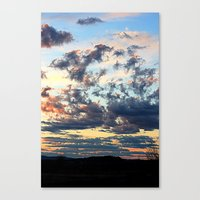 Endless Sky Canvas Print