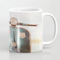 The Blue Vespa Mug