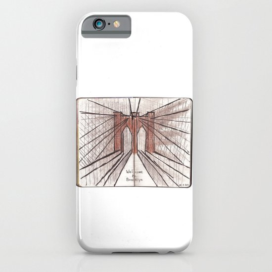 Welcome To Brooklyn iPhone & iPod Case