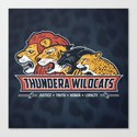Thundera Wildcats Canvas Print