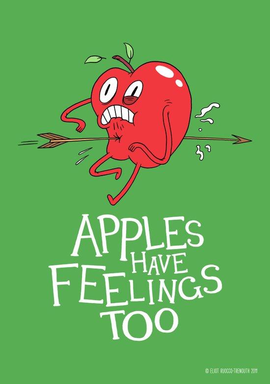 Apple Shot Art Print
