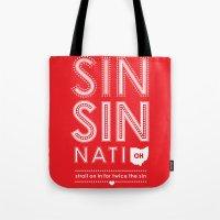 Locals Only — Sinsinnati, OH Tote Bag