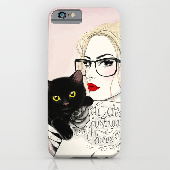 Cats just want to have fun! iPhone & iPod Case