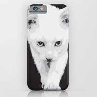 iPhone & iPod Case featuring cat by Ezgi Kaya