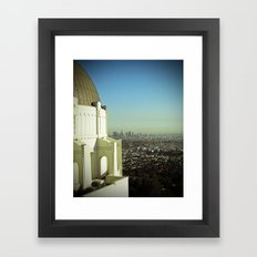 LA from the Griffith Framed Art Print