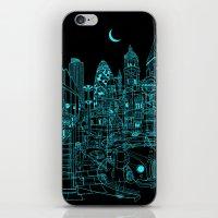 London! Night iPhone & iPod Skin
