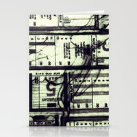 Muni Breaks Mixed Media … Stationery Cards