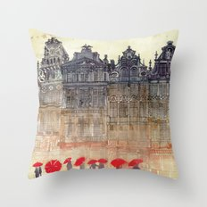 Brussels Throw Pillow