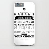 Sincerely Typography iPhone 6 Slim Case