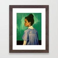 Georgina Framed Art Print