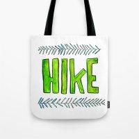 Hike Tote Bag