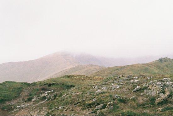 Misty Mountains II Art Print