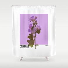 PANTONE 529 U Shower Curtain