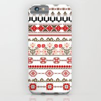 iPhone & iPod Case featuring Traditional pattern by Alina Filipoiu