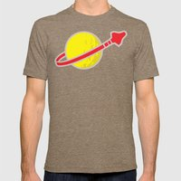 Lego Space Mens Fitted Tee Tri-Coffee SMALL