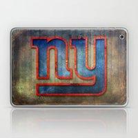 New York Giants Laptop & iPad Skin