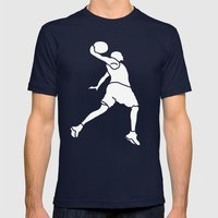 Elevate Mens Fitted Tee Navy SMALL