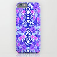 Baroque Blue iPhone 6 Slim Case