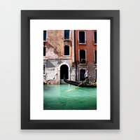 Row Rider Framed Art Print