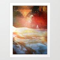 Christmas II Art Print