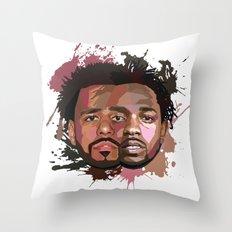 Kendrick Lamar + J Cole Throw Pillow