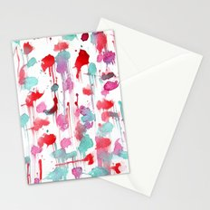 Water spots Stationery Cards