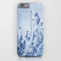 Winter came down to our home one night iPhone 6 Slim Case