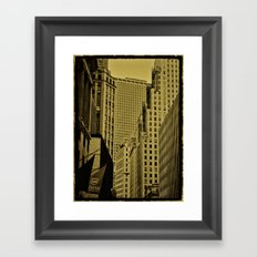 NY Art Framed Art Print