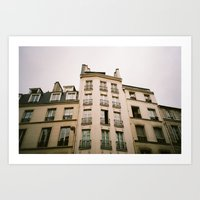 Parisian Architecture Art Print