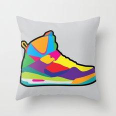 Jordan 45 high Throw Pillow