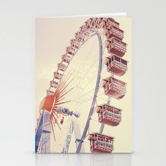 Ferris wheel Stationery Card