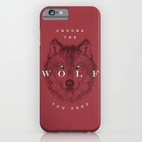 Choose the Wolf You Feed iPhone 6 Slim Case
