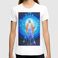 jesus T-shirts featuring Jesus by Walter Zettl