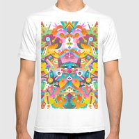 Festival Mens Fitted Tee White SMALL