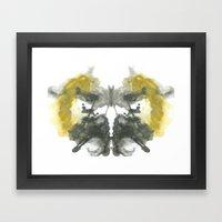 NEUE Inkblot Framed Art Print