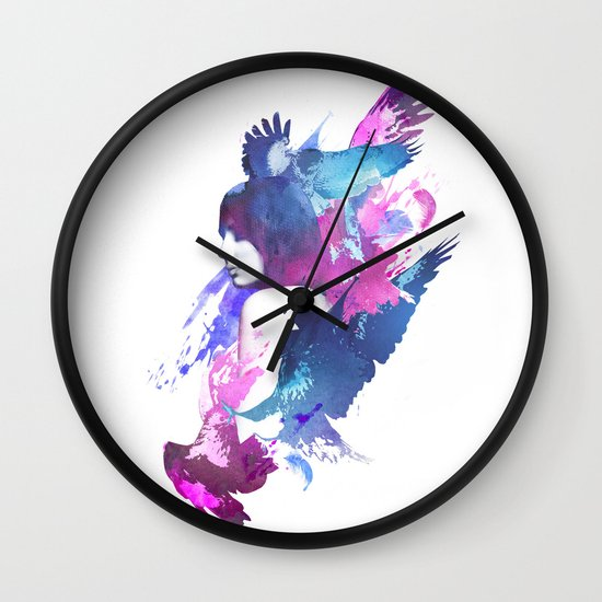 Bloody Fight Wall Clock